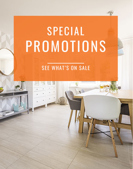 Special Promotions - See What's on Sale